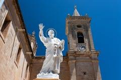 圣保罗雕象 库存图片