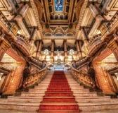 圣保罗,市政剧院 免版税库存图片