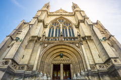圣保罗,达尼丁,新西兰大教堂教会  库存照片