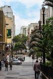 圣保罗,巴西- 2012年11月26日:圣保罗街道  免版税库存照片
