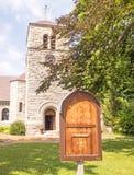 圣保罗` s主教制度的教会 库存图片