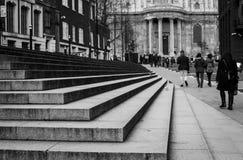 圣保罗` s大教堂伦敦 库存照片