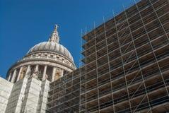 圣保罗` s大教堂,伦敦,英国 库存照片