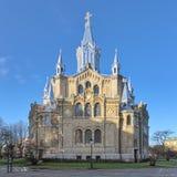 圣保罗` s教会在马尔摩,瑞典 免版税库存图片