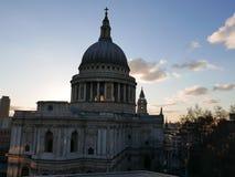 圣保罗& x27; s大教堂伦敦 免版税图库摄影
