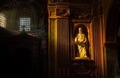 圣保洛雕象 免版税库存照片