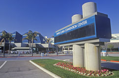 圣克拉拉会议中心在圣克拉拉,硅谷,加利福尼亚 免版税图库摄影