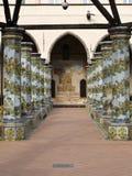 圣克拉拉女修道院 免版税库存照片