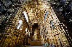 圣克拉拉教会,波尔图,葡萄牙 库存照片