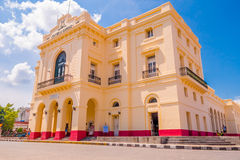 圣克拉拉,古巴- 2015年9月08日:看法 图库摄影