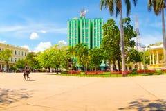 圣克拉拉,古巴- 2015年9月08日:看法 免版税库存图片