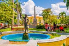 圣克拉拉,古巴- 2015年9月08日:看法 库存照片