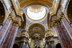 圣克罗Al Corso在罗马 免版税库存照片