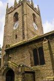 圣克里斯托弗` s教会在Pott Shrigley,彻斯特,英国小村庄  免版税图库摄影