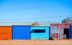 圣克里斯托瓦尔村庄,玻利维亚 免版税库存照片