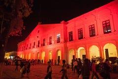 圣克里斯托瓦尔de Las卡萨什香港大会堂,墨西哥 免版税库存图片