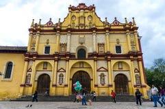 圣克里斯托瓦尔de Las卡萨什,墨西哥大教堂  免版税库存图片