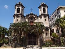 圣克里斯托del Buen Viaje教会  库存照片