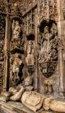 圣克鲁斯修道院在科英布拉 免版税图库摄影