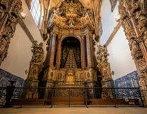 圣克鲁斯修道院在科英布拉 库存照片