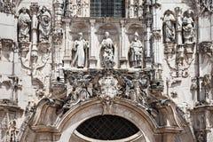圣克鲁斯修道院 免版税库存照片
