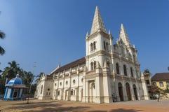圣克鲁斯大教堂大教堂教会在科钦 免版税库存照片