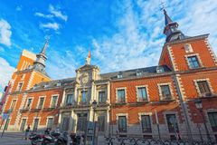圣克鲁斯宫殿,也作为部大厦外国Affai 免版税库存图片