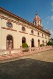 圣克鲁斯教会(葡萄牙传统在曼谷) 图库摄影