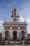 圣克鲁斯教会 库存照片