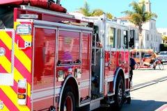 圣克鲁斯消防队 免版税库存照片