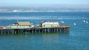 圣克鲁斯码头 免版税库存照片