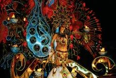 圣克鲁斯de特内里费岛狂欢节2014年 免版税库存图片