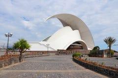 圣克鲁斯de特内里费岛 免版税库存图片