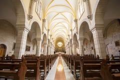 圣凯瑟琳内部教会在诞生compl教会的  免版税库存照片