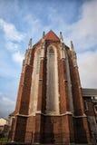 圣凯瑟琳教会在克拉科夫 图库摄影