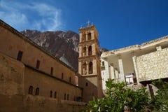圣凯瑟琳的修道院教会和博物馆  免版税图库摄影