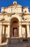 圣凯瑟琳,瓦莱塔,马耳他教会  免版税库存图片