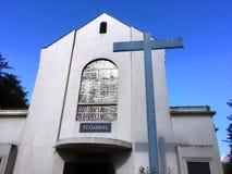 圣加布里埃尔教会 免版税库存图片