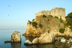 圣劳伦斯湾堡垒在杜布罗夫尼克 库存图片