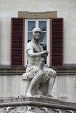 圣劳伦斯湾广场在佛罗伦萨 免版税库存照片