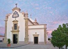 圣劳伦斯Almancil教会  图库摄影