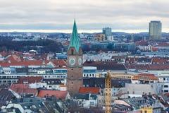 圣十字教堂在慕尼黑 免版税库存图片