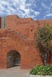 圣卡塔利娜修道院。阿雷基帕,秘鲁 库存图片