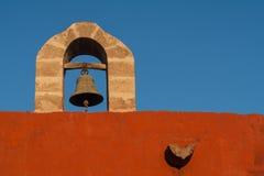 圣卡塔利娜钟楼 免版税库存图片
