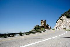 圣卡塔利娜高速公路在亚利桑那 免版税库存照片