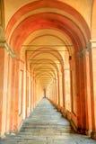 圣卢卡拱道背景 免版税库存照片