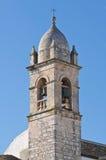 圣卢西亚的教会。 Alberobello。 普利亚。 意大利。 免版税图库摄影
