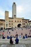 圣吉米尼亚诺,意大利 免版税库存图片
