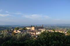 圣吉米尼亚诺,托斯卡纳,意大利 免版税图库摄影