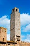 圣吉米尼亚诺-锡耶纳托斯卡纳意大利 库存图片